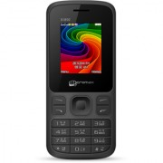 Micromax JOY X1850 (Dual Sim 1.8 Inch Display 1800 Mah Battery Black-Grey) ( Without Charger and Earphone)