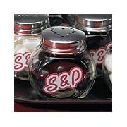Miniature Classic Candy Jar Salt and Pepper