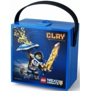 VÂNZARE - LEGO NEXO KNIGHTS cutie cu mâner - albastru