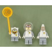 Lego Spongebob Squarepants Sandy Cheeks Patrick Star : Spacesuit Set of Three Minifigures By Lego Buy New