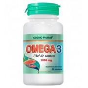 Omega 3 – Ulei de somon 1000 mg, 30 capsule