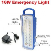 Black Cat 16W Emergency Light 16 SMD Multicolour - Pack of 1