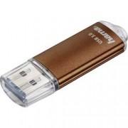 Hama USB flash disk Hama Laeta 124005, 128 GB, USB 3.0, hnědá