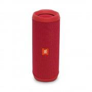SPEAKER, JBL Flip 4, водоустойчив безжичен bluetooth спийкър и микрофон за мобилни у-ва, Червен