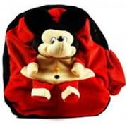 teddy world Soft Toys School Bag Plush Bag (Red 16 L)