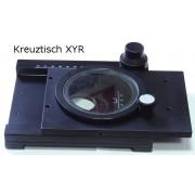 Masă specimene cu cremalieră pentru microscoape stereo mari (X-Y și rotație)
