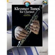Schott Music Klezmer Tunes for Clarinet Rudolf Mauz, mit CD