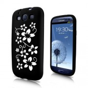 Samsung I9300 Galaxy S III Flora Силиконов Калъф + Протектор