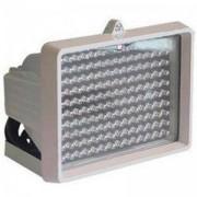 Прожектор за видеонаблюдение IR, LED, 120м, 26 диода/ 8 мм, QH-IR120, QIHAN