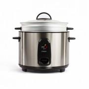 DOMOCLIP Cuiseur à riz et à la vapeur en inox 1000 W DOMOCLIP