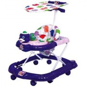 Abasr Panda Creation Musical Activity Walker With Parent Rod (Blue)