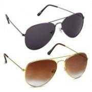 Amour-Propre Aviator Sunglasses(Multicolor)