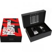 Carolina Herrera 212 VIP Black Комплект (EDT 100ml + SG 100ml) за Мъже