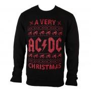 felpa senza cappuccio uomo AC-DC - A Very AC/DC Xmas - PLASTIC HEAD - PH9535CSW