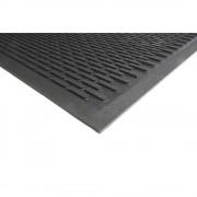 Schmutzfangmatte Gummi, schwarz LxB 3000 x 850 mm