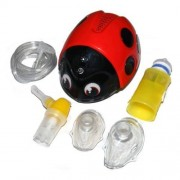 Flaem Aerosol per bambini Coccinella - Completo di accessori e borsa