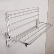zwixs Decoración/Armario/Soporte Estantes para el hogar Estante, Perforación libre Colgante Espacio de la pared Bastidor de toallas de aluminio Fuerte capacidad de carga