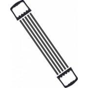 Extensor fitness reglabil pentru piept cu 5 corzi elastice