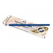 Set 12 creioane colorate Goldline Heutink, 3.7 mm, Albastru
