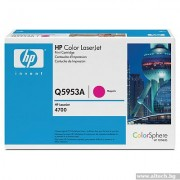 HP 643A Magenta Color LaserJet Print Cartridge (Q5953A)