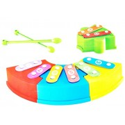 Vivir Rainbow Musical Block Xylophone Toys for Kids (Multicolour, 1 Year)