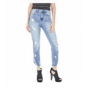 GUESS Lynn Destroyed Skinny Jeans light destroy wash