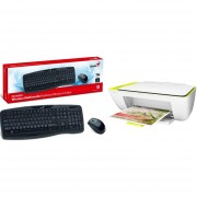 Pack Multifuncional HP + Kit Teclado Mouse Inalambrico Genius