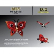 Looking Glass Torch Figurine-Ruby the Butterfly-Ltd Ed