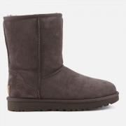 UGG Women's Classic Short II Sheepskin Boots - Chocolate - UK 5 - Brown