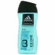 Adidas Ice Dive Gel de duș bărbați șampon și gel de duș 2 în 1 pentru bărbati 250 ml