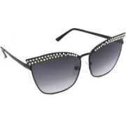 TARA JARMON Cat-eye Sunglasses(Grey)