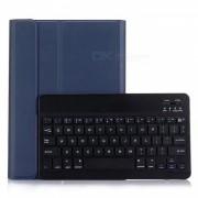 Miimall Ultra-Slim Wireless Bluetooth Keyboard Funda Folio Stand para Apple iPad Air / iPad Air 2 / iPad Pro 9.7 pulgadas-Azul