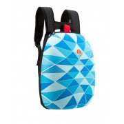 Rucsac ZIP..IT Shell - triunghiuri albastre