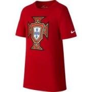 Portugal T-shirt Crest - Rood Kinderen