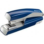 Capsator Leitz 5523, 40 coli, capsare plata, albastru