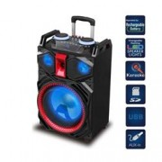 MAJESTIC ALTOPARLANTE A TROLLEY DJ LED