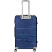 """Maison & Cuisine 100% ABS, Beautiful Printed Pattern Suitcases & Trolley Bag Luggage Bag Size-20"""" (ITN - 100) (Color - Blue) Check-in Luggage - 23 inch(Blue)"""