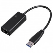 Adaptor Ethernet - USB 3.0 HAMA 53173, Gigabit, negru