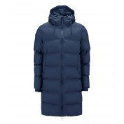 Rains Winterjassen Long Puffer Jacket Blauw
