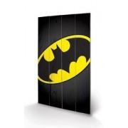 Tablou pe lemn Batman Symbol