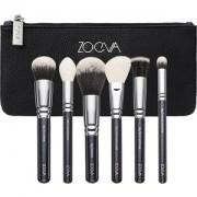 ZOEVA Brushes Brush sets Classic Face Set 102 Silk Finish + 105 Luxe Highlight + 106 Powder + 122 Petit Stippling + 127 Luxe Sheer Cheek + 142 Concealer Buffer 1 Stk.