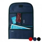 Resväska Polyester 300d 148946 - Färg: Svart / marinblå