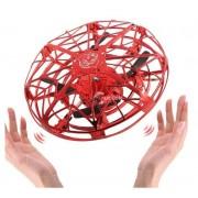 UFO játék - sötétben is reptetheted (piros)