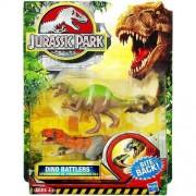 1 X Jurassic Park Dino Battlers - Spinosaurus vs. Tyrannosaurus Rex