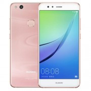 Huawei nova Lite WAS-AL00 4GB+64GB Fingerprint Identification 5.2 inch EMUI 5.1 (Smartphone Android 7.0) Kirin 658 Octa Core 4 x Cortex A53 2.1GHz + 4 x Cortex A53 1.7GHz Network: 4G Dual SIM (Cherry Pink)