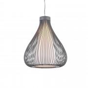 [lux.pro]® Függőlámpa design függeszték New York 43 x 30 cm mennyezeti lámpa szürke