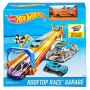Set de joaca Mattel Hot Wheels Rooftop Garage - DRB29