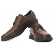 Clarks Energise You Genuine Leather Lace Up Shoes For Men(Brown)