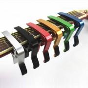High Quality Aluminium Alloy Metal New Guitar Capo Quick Change Clamp Key Acoustic Classic Guitar Capo For Tone Adjusting