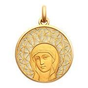 Becker Médaille Becker Vierge Byzantine